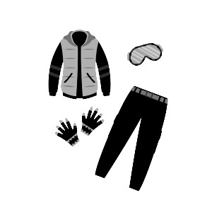Ski outfit rental
