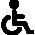 Possibilité d'appartement accessible aux personnes à mobilité réduite