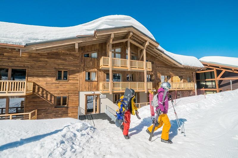 Résidence avec accès direct au front de neige