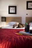 Chambre, Appartement 4P8, vue 1
