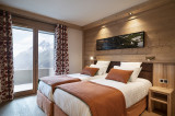 Chambre, Appartement 5P10PERS, Alpen Lodge, La Rosière