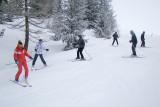 ski collectif adulte débutant