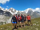 Hiking pleasure and wellness mountains
