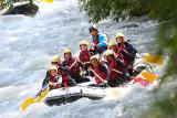 Rafting en famille avec H2O