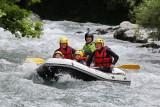 Rafting La Rosière été fun rivière