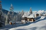 Le chalet sous la neige 2013