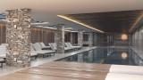 piscine residence sky la rosiere front de neige