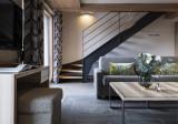 Séjour partie salon, Appartement 4P8PERSP , Alpen Lodge, La Rosière