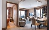Séjour, Appartement 3P6PERS, Alpen Lodge, La Rosière, vue 1
