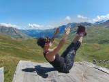 Pilates nature mountain summer La Rosière