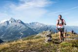 découverte du trail en montagne à La Rosière