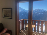 vue balcon en hiver