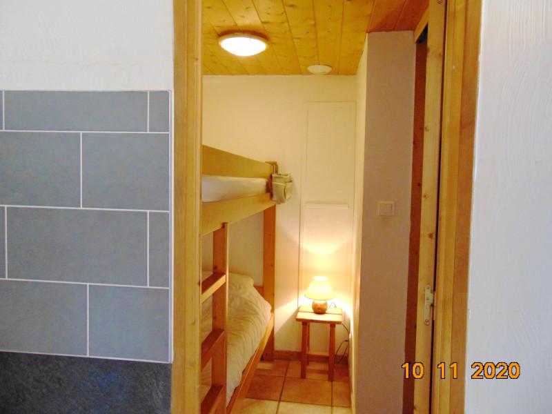 Chambre lits surperposés, Chalet Androsace, La Rosière, vue 1