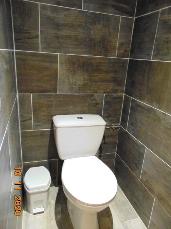 Toilettes, Chalet Androsace, La Rosière, vue 2