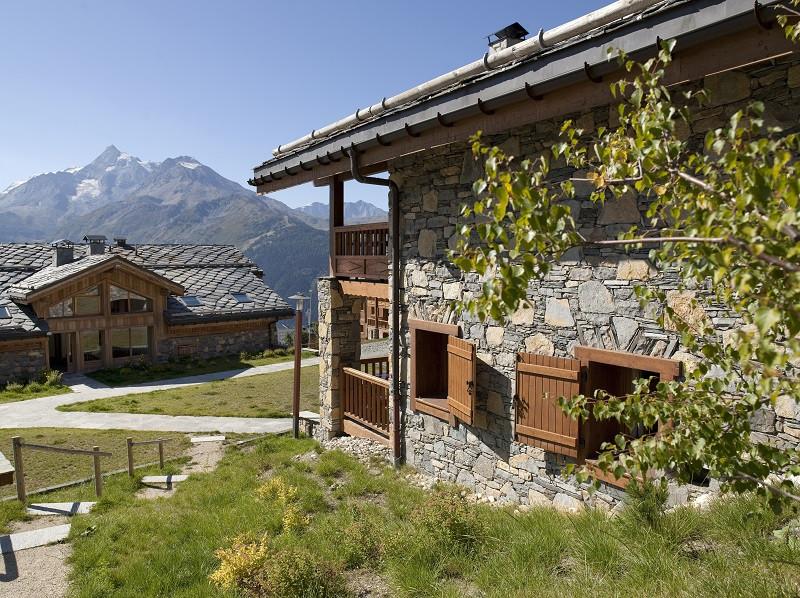 Extérieur résidence, Les Cimes Blanches, vue 2