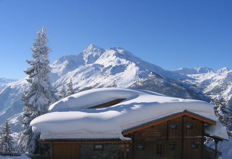 Extérieur hiver entrée, Chalet Les Clarines