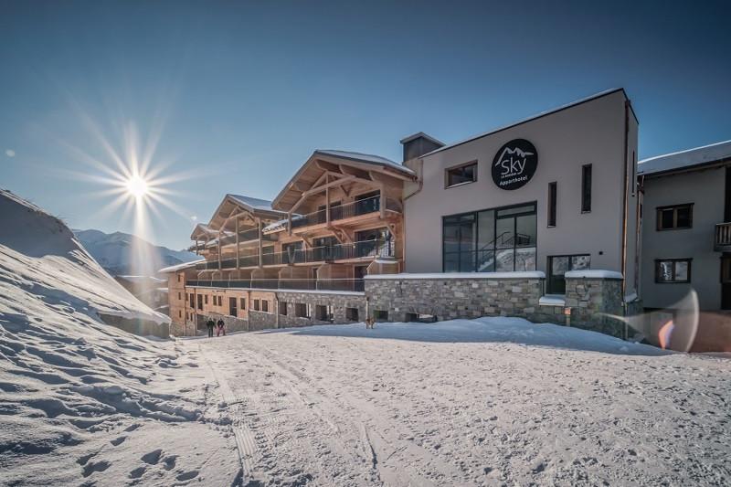exterieur residence sky la rosiere front de neige