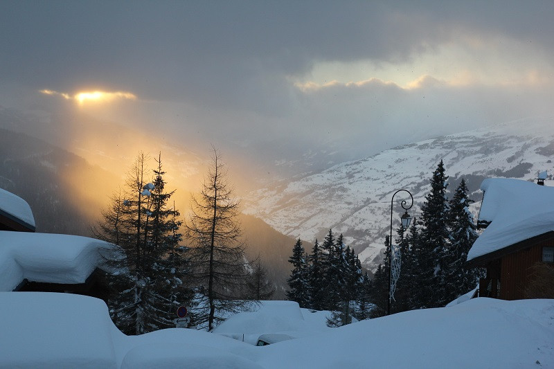 Panorama hiver, Studio cabine CR09A, vue 2