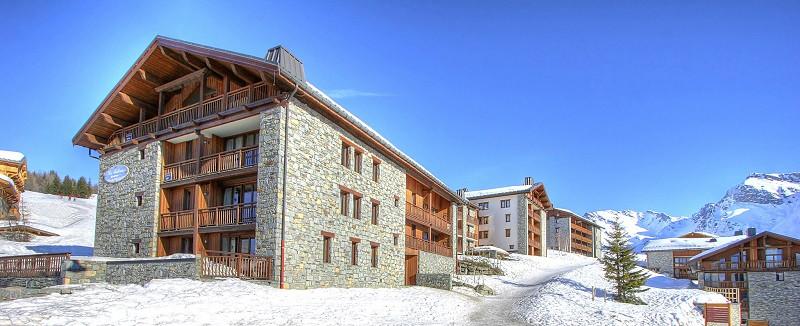 Extérieur hiver de la résidence Les Balcons de La Rosière