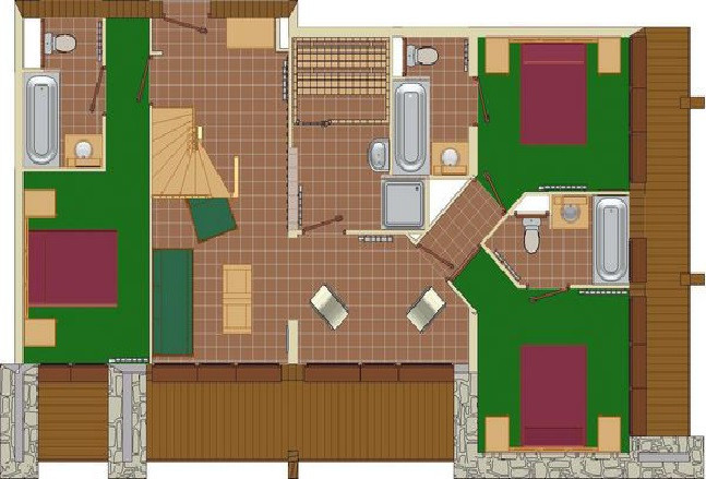 plan-de-l-appartement-8P16PR-les-balcons-de-la-rosiere-niveau-2