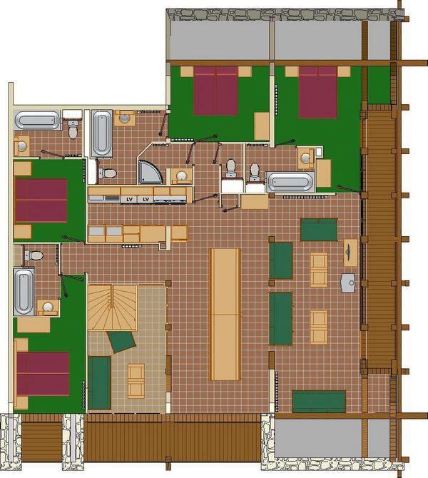 plan-de-l-appartement-8P16PR-les-balcons-de-la-rosiere-niveau-1