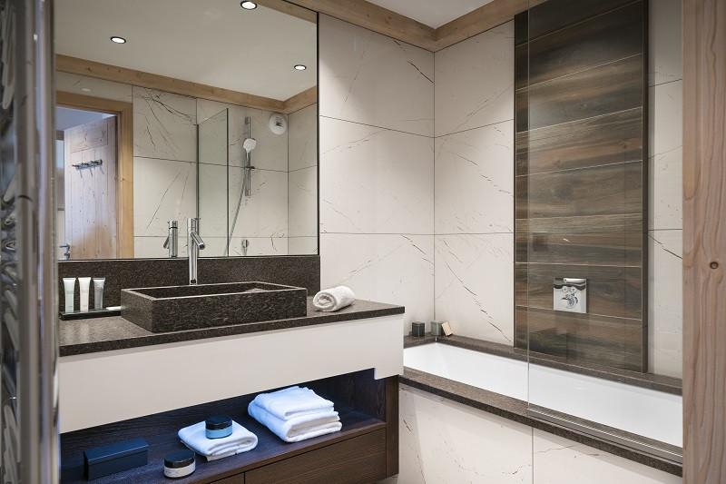 Salle de bain, Appartement 6P12PERS, Alpen Lodge, La Rosière