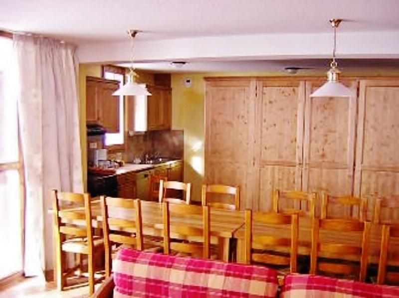 Séjour, Appartement 7P14, Les Balcons de La Rosière