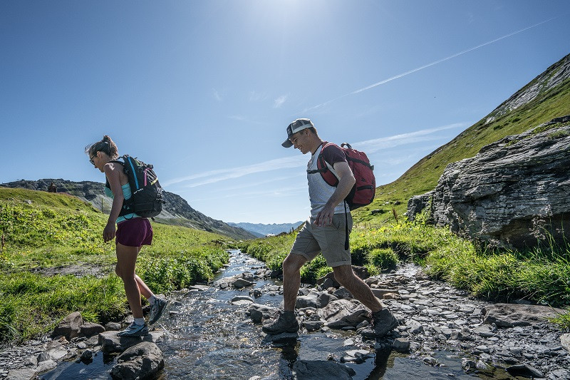 Petit St Bernard pass Hiking