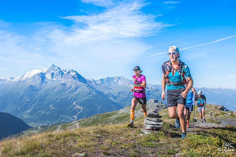 course en montagne trail la rosiere